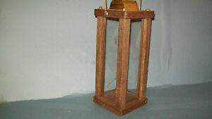 civil war reenactors wooden candle lantern-small