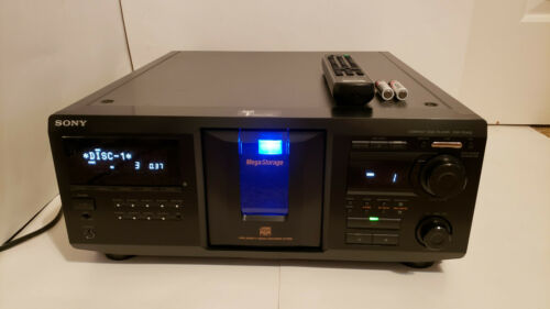 Sony 400 Disc Mega CD Changer CDP-CX455 w/ Remote - SERVICED & NEW BELTS