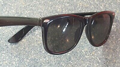 Zoom Eyewear Black Classic Style Sunglasses Blues Brother Retro Look -