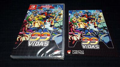 99 VIDAS limited edition console NINTENDO SWITCH super rare run games