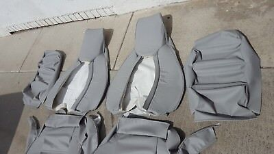 Upholstery Vinyl Kit - PORSCHE 928 UPHOLSTERY SEAT KIT FRONT (SET) GERMAN VINYL BEAUTIFUL KIT NEW
