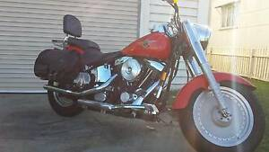 Harley Fatboy Clontarf Redcliffe Area Preview