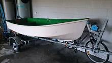 12 Fibreglass Boat, 2hp Yamaha, Reg Trailer...Reduced!!! Avalon Pittwater Area Preview