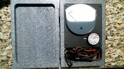 Jewell Microamperes Tsa6a Test Meter Gauge Wbox -free Shipping