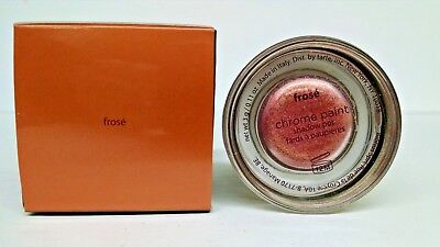 TARTE CHROME PAINT SHADOW POT EYESHADOW FROSE` ROSE GOLD FULL SIZE- -