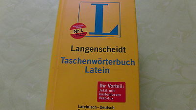 Taschenwörterbuch LATEIN von Langenscheidt