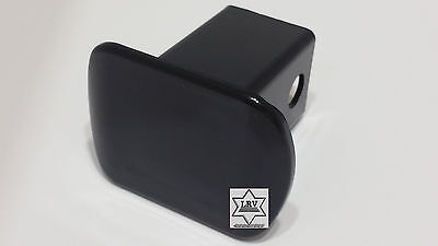 Hitch Pin 2 Inch Receiver (Trailer Hitch Cover; Fits 2 Inch Receiver; Pinned; Black; Plastic Husky  )