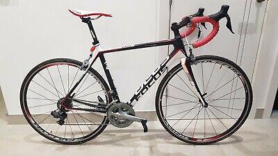 Focus Cayo Evo Carbon Di2 M 55cm Ultegra Road Race Lightweight Bike Cycle £2799