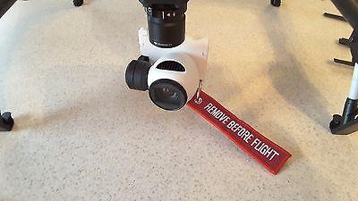 Dji Inspire 1 X3 Camera Gimbal Lock With Remove Before Flight Keyring
