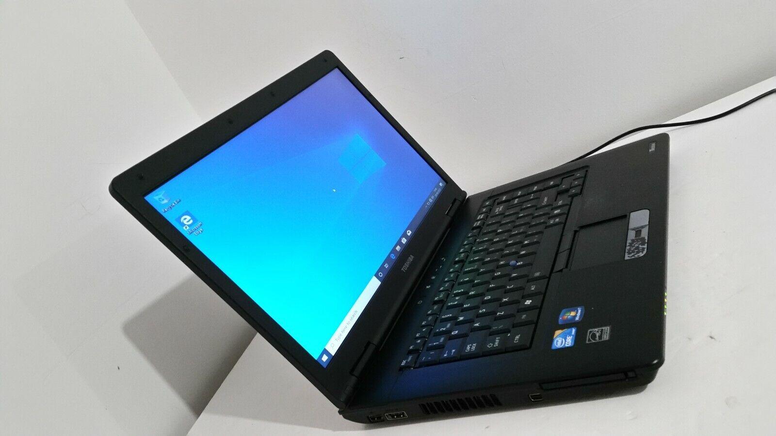 Laptop Windows - Toshiba Tecra A11-17C Laptop, Intel i3-330M CPU, Windows 10, 320 GB HD, 4 GB Ram