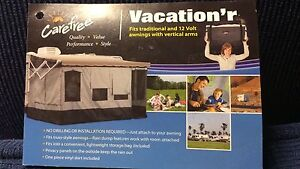 Vacation'r screen in your awning!
