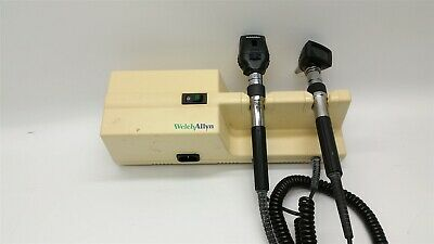 Welch Allyn 767 Transformer W Otoscope And Ophthalmoscope