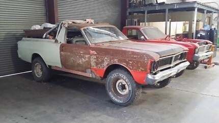1972 Ford XY Falcon 4X4 MAD MAX Utes Edwardstown Marion Area Preview