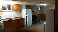 clean renovated basmement apartment lakeshore and royal york
