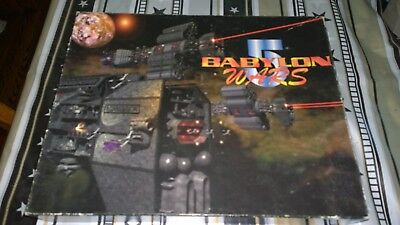 Babylon 5 Wars Core Boxed Set: Unpunched Counters