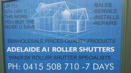ROLLER SHUTTERS - OUTDOOR BLINDS & AWNINGS- $Wholesale Prices $