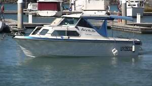 22' TRAILER BOAT CRUISECRAFT 'ROVER 6.63 VOLVO 240 (PRICE DROP)