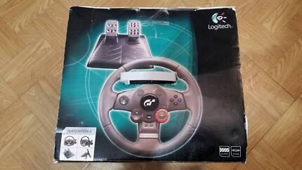 Logitech GT Driving Force Feedback Wheel