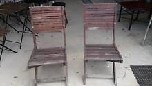 Wooden deck chairs Erskine Mandurah Area Preview