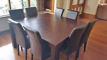 Large solid timber dining table Brighton Bayside Area Preview