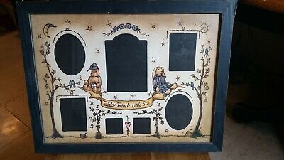 picture frame collage baby, twinkle little star theme ()