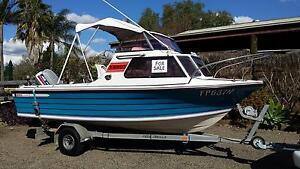15ft half cabin boat Camden Camden Area Preview
