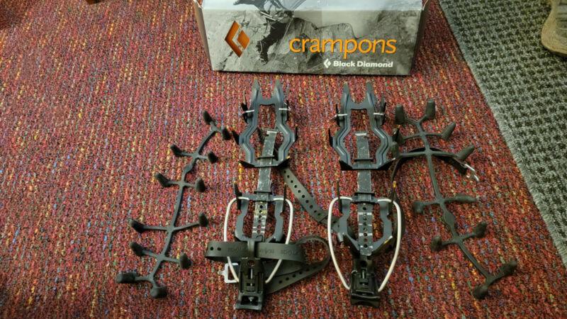 Black Diamond Sabretooth Crampons with original box