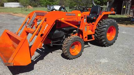 Kubota L3400 Tractor Yass Yass Valley Preview