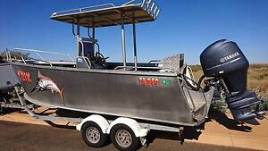 Ultimate boats 6.2m Ali 150hp Yamaha centre console Karratha Roebourne Area Preview