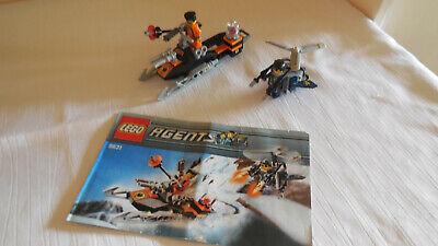 Lego -  Agents - Set 8631 + BP + Figuren