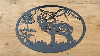 Elk bugle metal 24