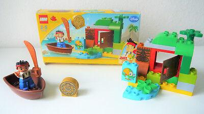 Lego Duplo 10512 Jake und die Nimmerland-Piraten Jakes Schatzsuche mit OVP kompl (Jake Und Die Nimmerland Piraten Boot)