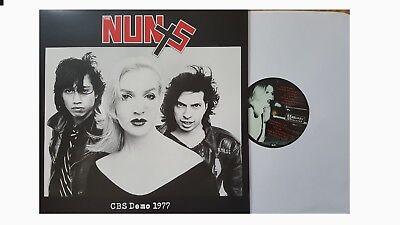 The Nuns Cbs Demo 1977 Sealed New Vinyl Lp Rare Punk