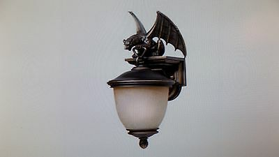 Triarch International 7525014 Gargoyle Collection Light Exterior CFL Wall Sconce