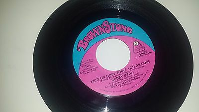 """BOBBY BYRD Keep On Doin' What You're Doin / Let Me Know BROWN STONE 4205 45 7"""""""