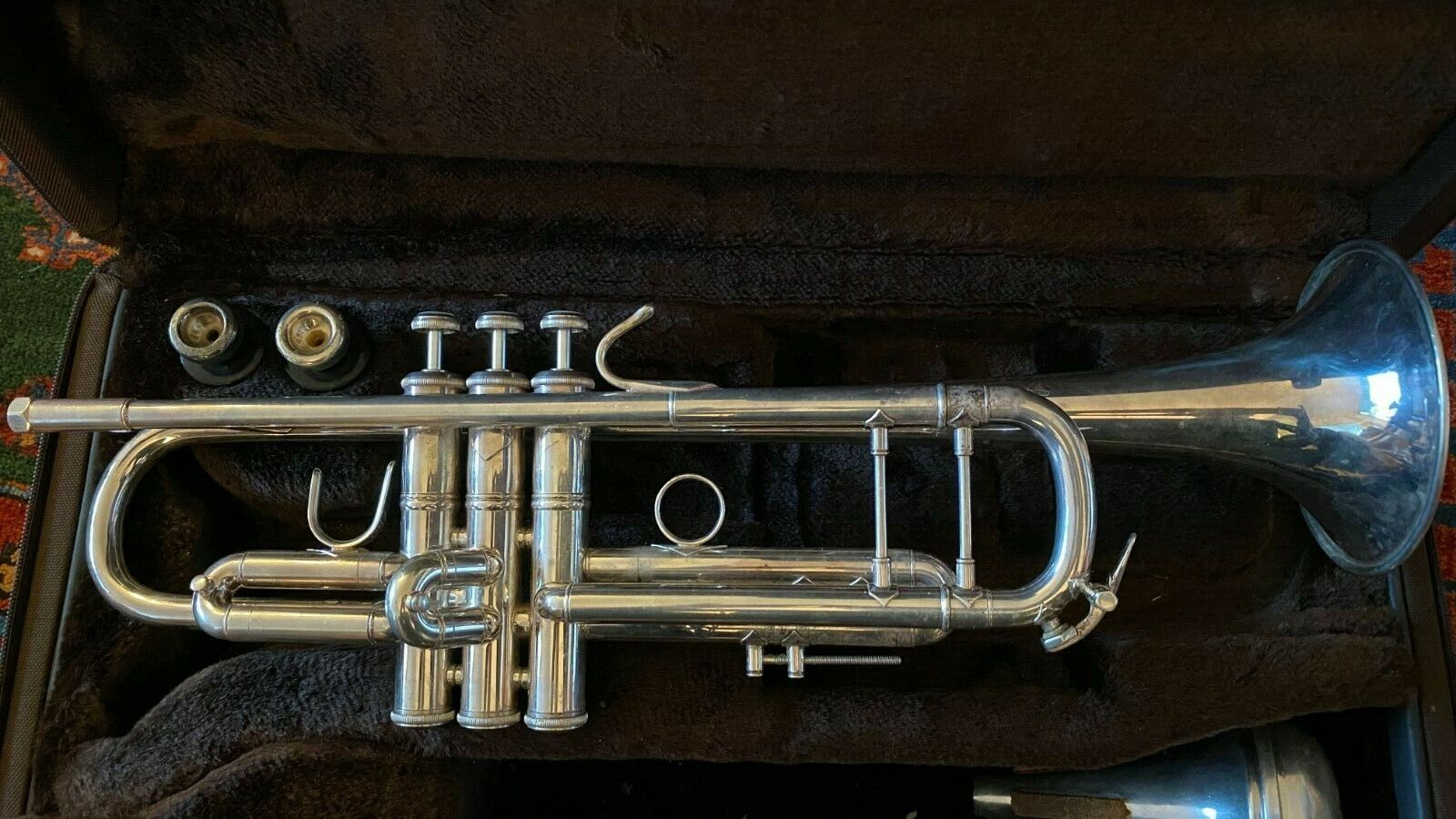 Bach Stradivarius Model 37 Silver Plated Bb Trumpet - In Very Good Condition - $1,175.00