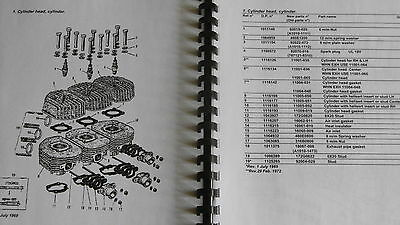 KAWASAKI H1 H1A parts catalogue 500.