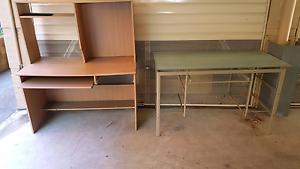 Glass study desk and computer table Parramatta Parramatta Area Preview