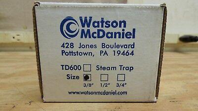 Watson Mcdaniel Td600 38 Steam Trap Brand New Free Shipping