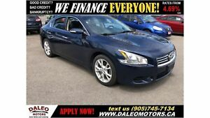 2013 Nissan Maxima SV| LEATHER|SUNROOF|HEATED SEATS|BLUETOOTH