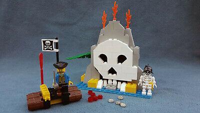 LEGO 6248 = Pirates Volcano Island, skeleton raft & gold VINTAGE 1996 projectile