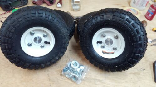 Robotics Kit - 10 Inch Wheel Assembly for 1/2 Inch Drive Shaft - BaneBots, RC