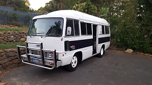 Toyota Coaster V8 hybrid Ford on L.P.G Wongawallan Gold Coast North Preview