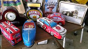 Vintage arnotts  biscuit tin  Clock $30 Glanville Port Adelaide Area Preview