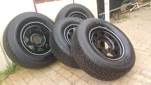 BRAND NEW TYRES AND RIMS 265 65 R17 ALL TERRAIN Gosnells Gosnells Area Preview