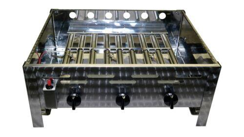 Rösle Gasgrill 3 Flammig : Landmann gasgrill bbq grillwagen grillchef in schwarz