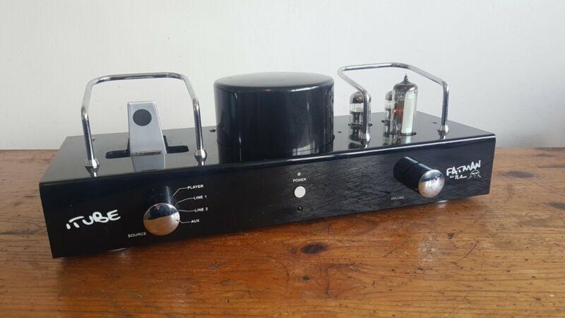Fatman iTube Valve iPod Amplifier, Carbon Edition