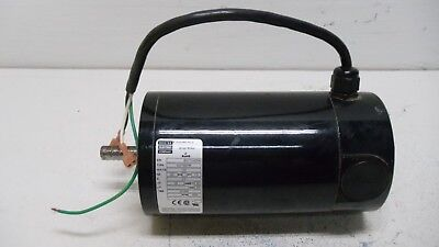 New Bodine 42y7bepm Electric Small Motor .28 Hp 1600 Rpm V104