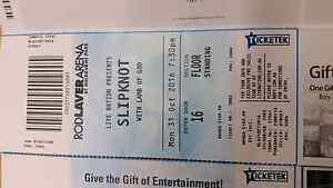 Slip knot tickets Henderson Cockburn Area Preview