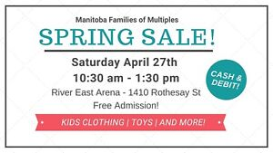 Kids toy and clothing sale